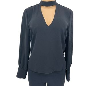 ZARA Woman V Neck Blouse